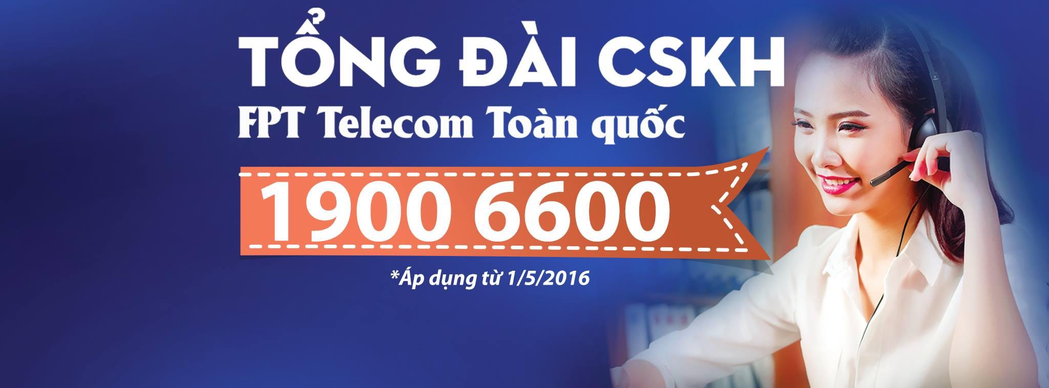 1900.6600 là số điện thoại Tổng đài FPT