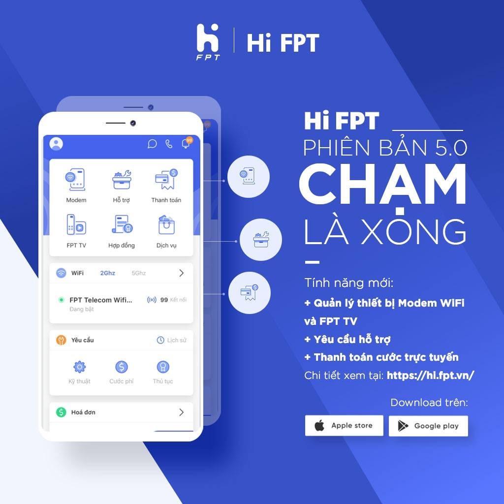 Sử dụng phần mềm Hi FPT để kiểm tra hợp đồng FPT