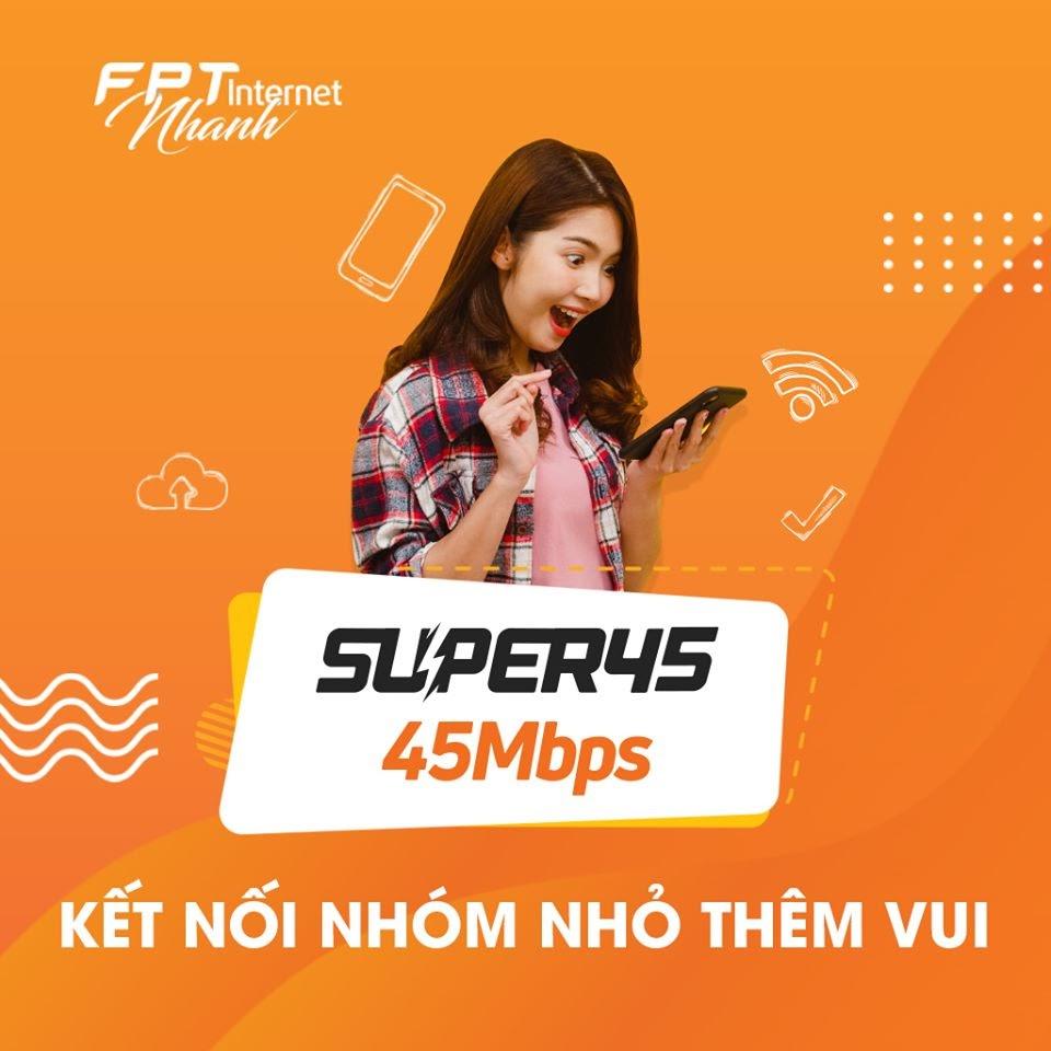 Super 35 - Gói Cước Cáp Quang FPT Được Đăng Ký Nhiều Nhất