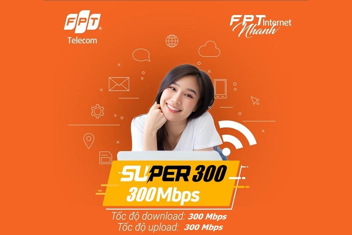 Super 300 - Gói Cước Internet FPT Chuyên Dành Cho Các Doanh Nghiệp Lớn