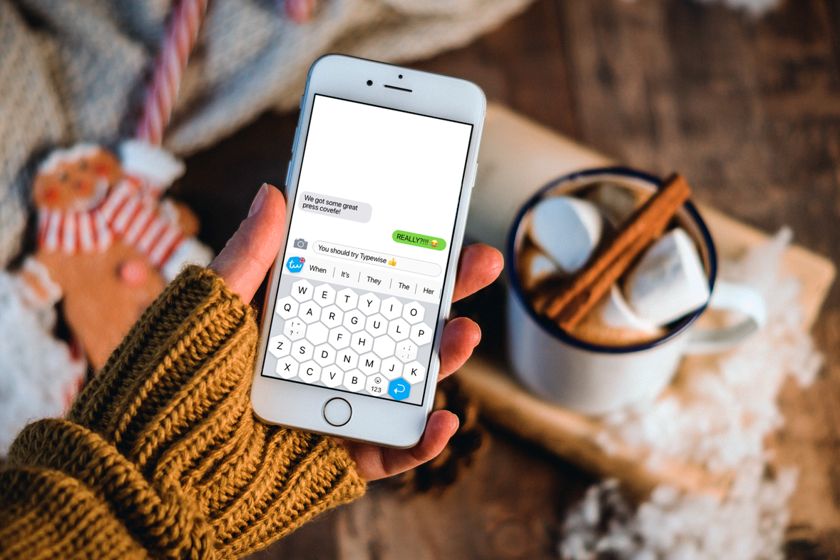 Typewise smartphone keyboard app for iphone