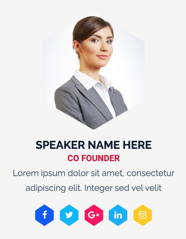 Virtual Event Werbung durch Speaker