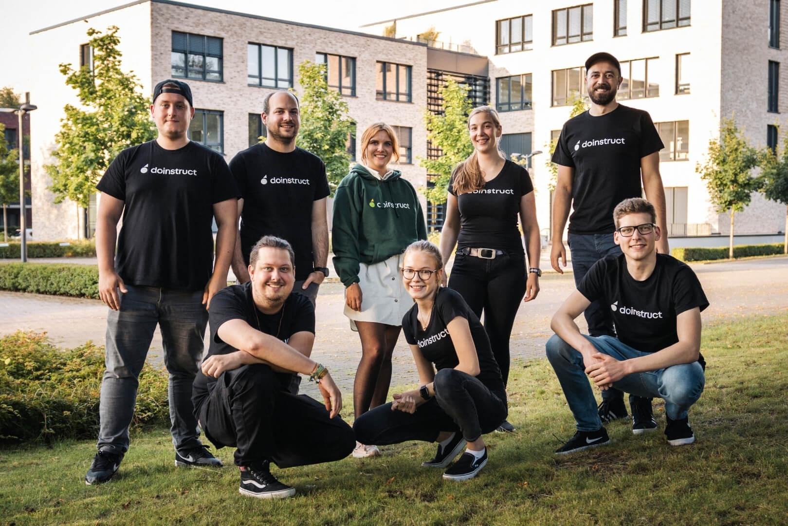 Gruppenfoto doinstruct Team