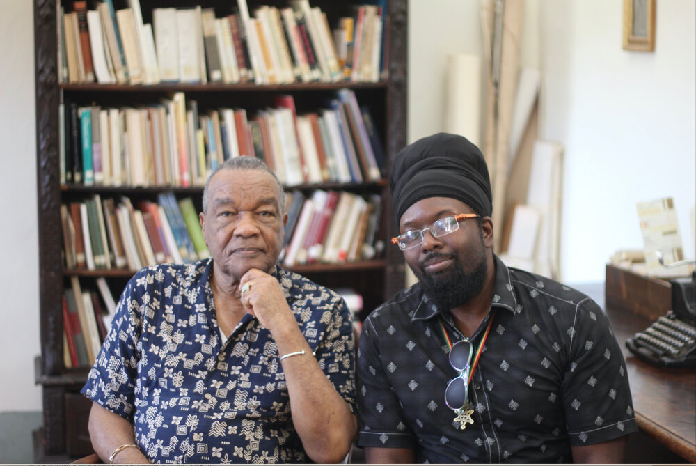 David C. Driskell and Ras Selassie Alleyne. Spannocchia 2019