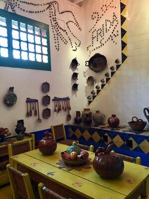 Kitchen of Casa Azul. Photo by Hector Garza