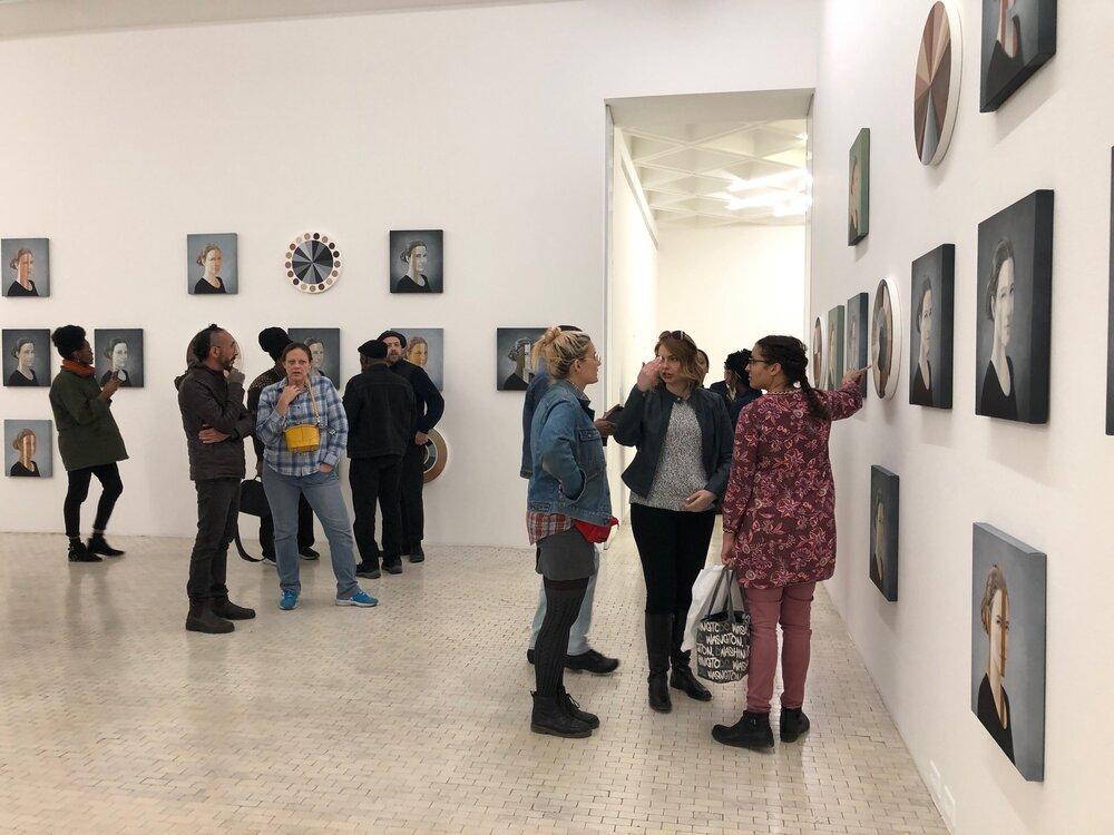 IDSVA students at Museo Tamayo. January 2020. Photo by Simonetta Moro