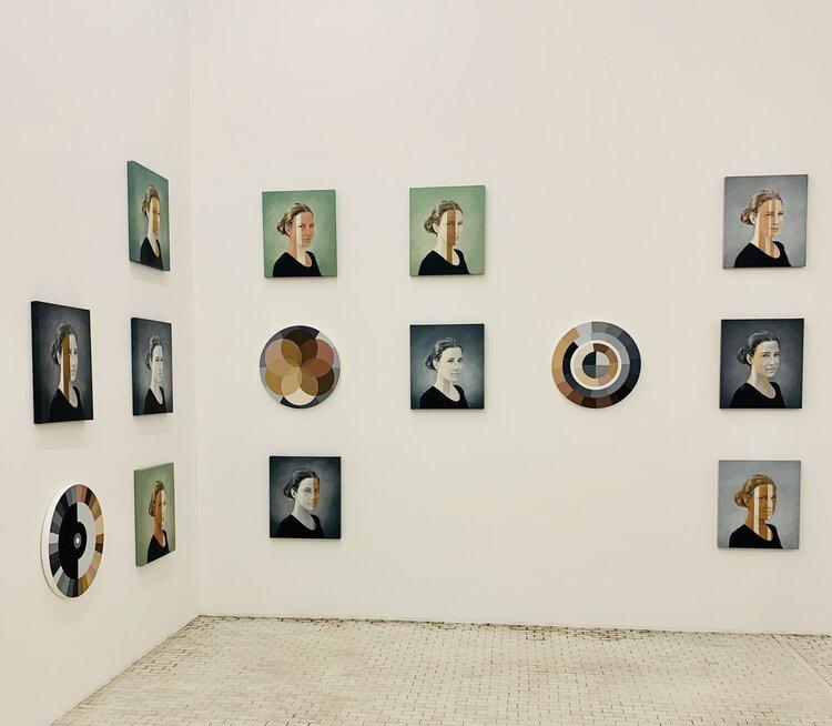 """Palvo Portraits"""" at Museo Tamayo."""