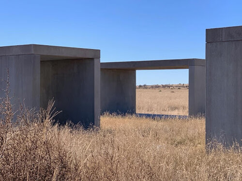 Fifteen Untitled Works in Concrete at the Chinati Foundation. Photo by Lisa M. Williamson