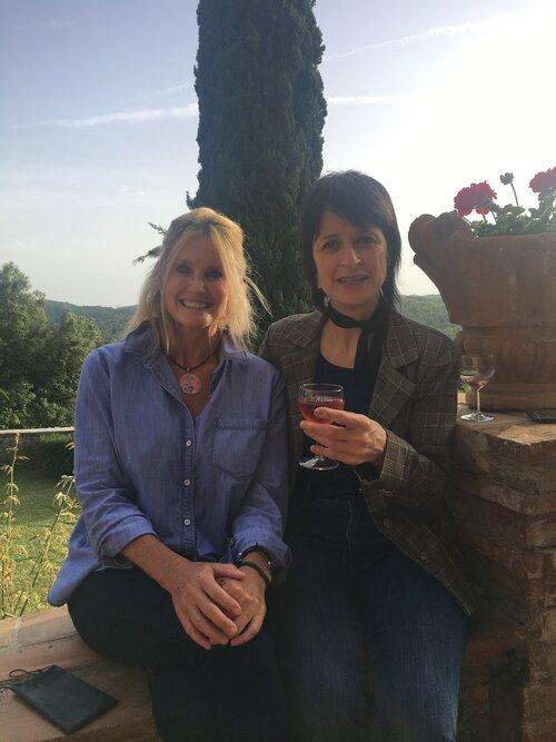 Terri Pyle and Franca Marini