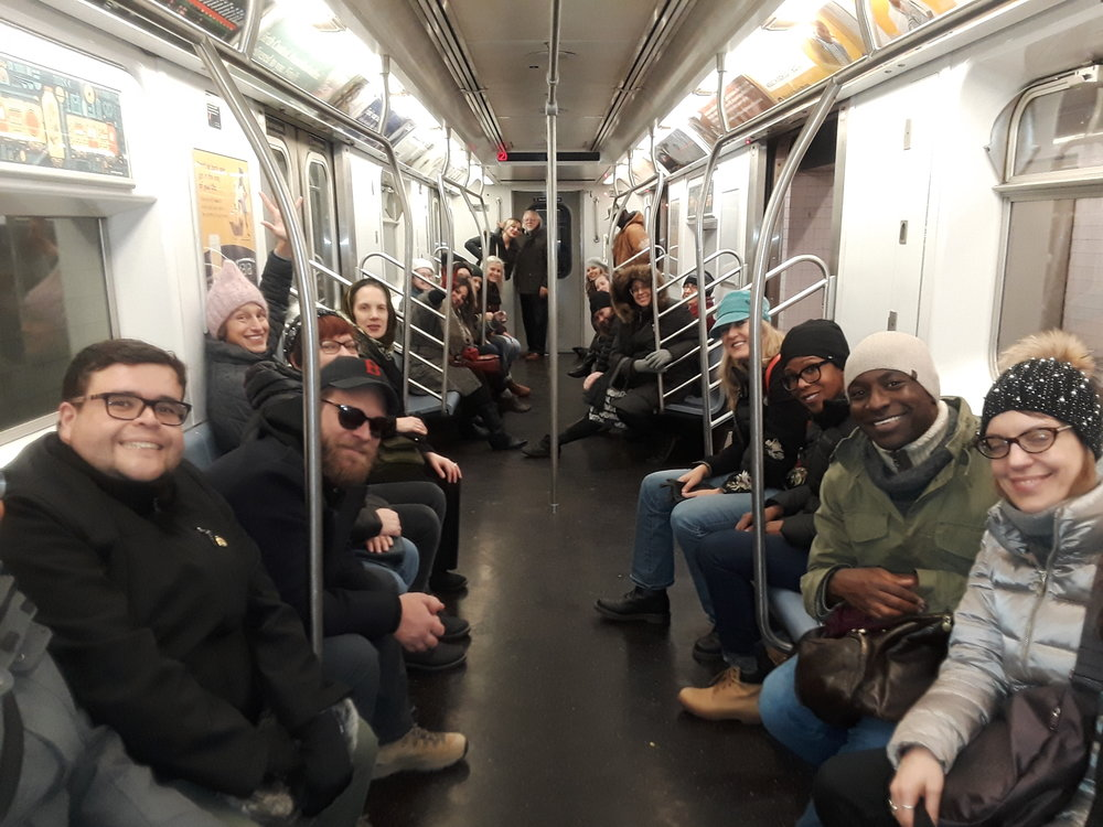 IDSVA in NYC, January 2019. Photo by Jane Griffo
