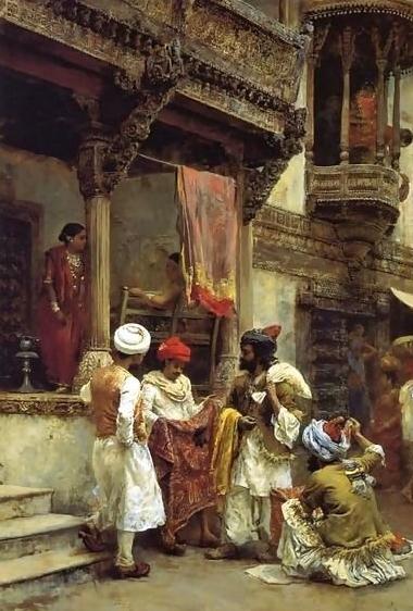 The Silk Merchants by Edwin Lord Weeks