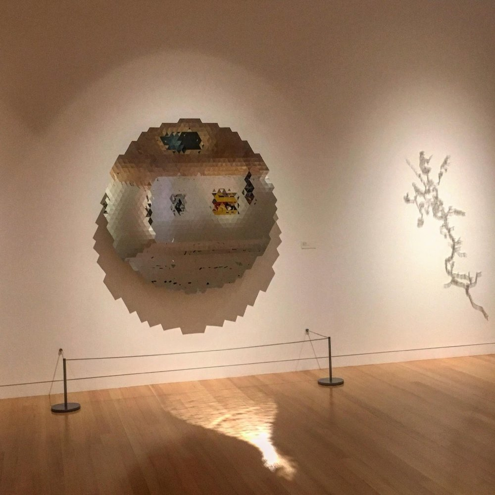 Image of Untitled, 2010 by Anish Kapoor. Colby College Museum of Art. Photo by Poppy Gauss