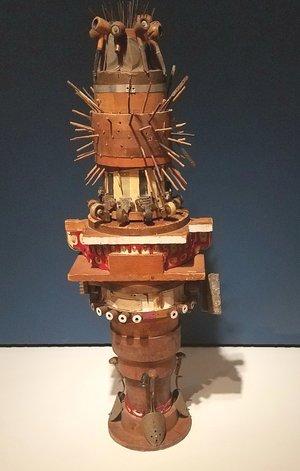 Noah Purifoy's Totem, mixed media. Photo by Lisa Williamson.