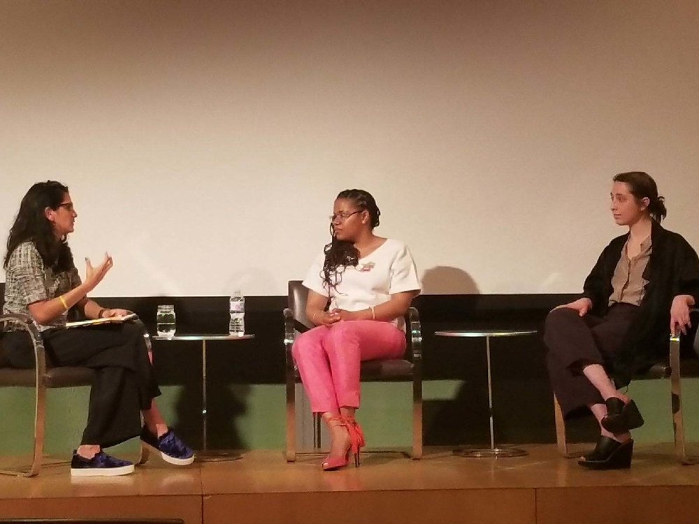 Panel discussion at the Nasher Prize Graduate Symposium. Photo courtesy of Zoma Wallace