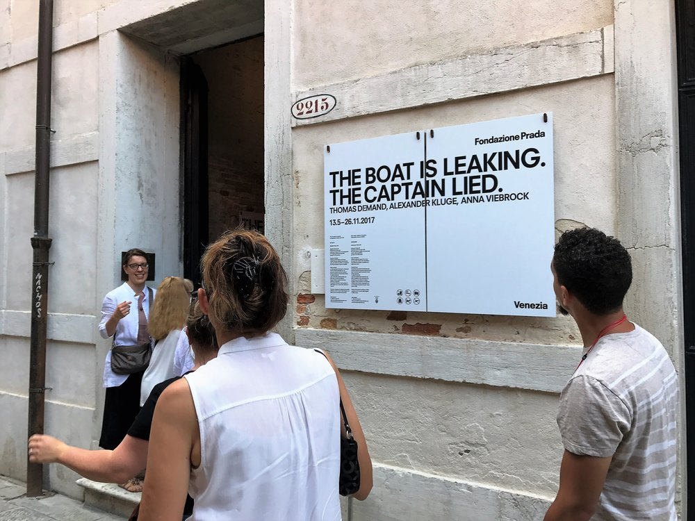 IDSVA students arrive at the Prada Foundation Photo Credit: Jessica Rodríguez-Colón