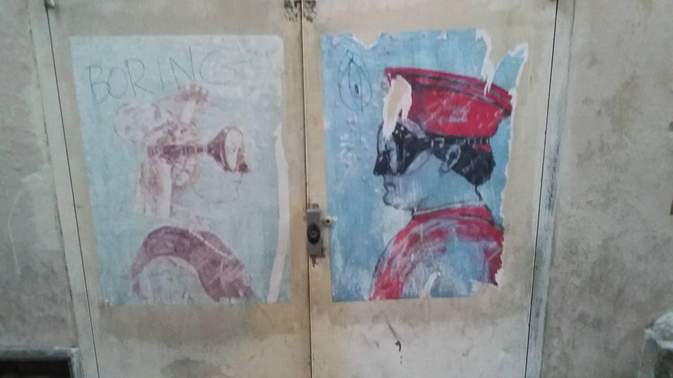 Italian Street Art in Venice Photo Credit: Ana Fernandez