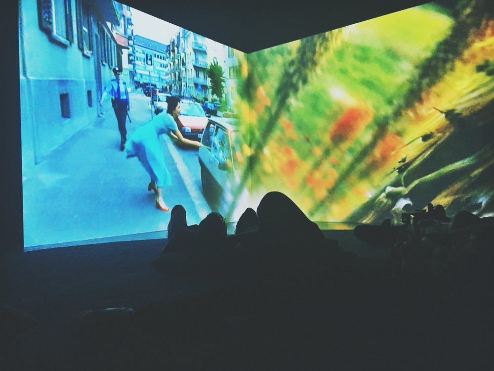 Ever is Over All, 1997, Pipilotti Rist. Photo by Jonathan Morgan
