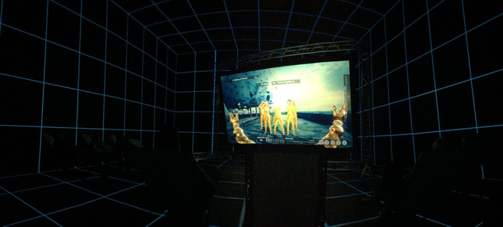 Factory of The Sun, 2015, Hito Steyerl. Photo by Laila Kouri