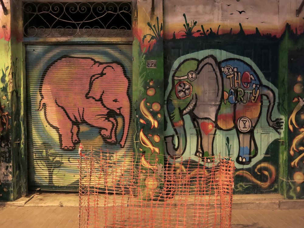 Street art in Athens. Photo by Gabriel Reed.