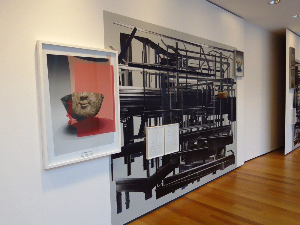 Walid Raad Exhibit, Photo by Gabriel Reed