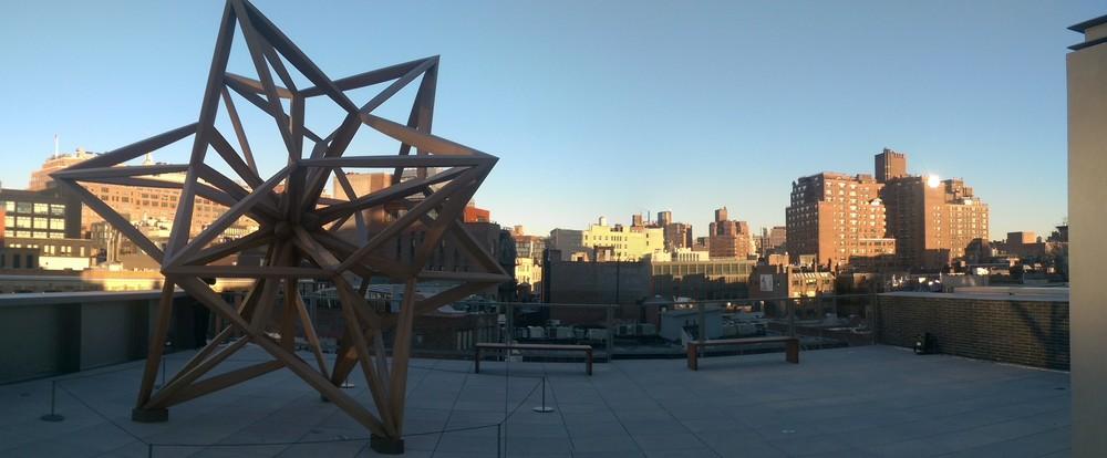 The Whitney Museum of American Art, Frank Stella Retrospective. January 2016. Photo by Jonathan Morgan