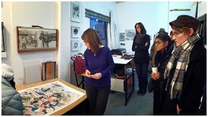 Dr. Moro in her studio