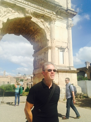 Tom Huhn in Rome with IDSVA