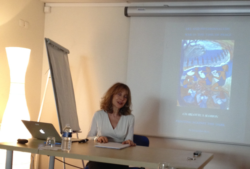 Dr. Jacqueline Rose lectures for IDSVA in Paris