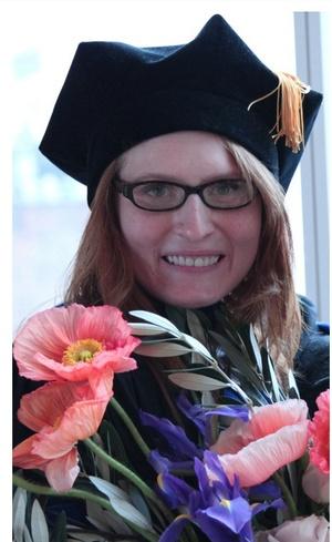 Emily Putnam at Graduation (by Tania Romero)