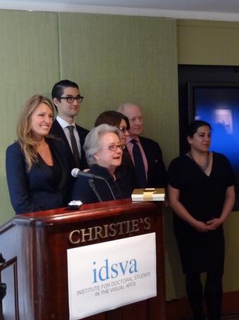 Christie's Symposium Crew (by Deborah Bouchette)