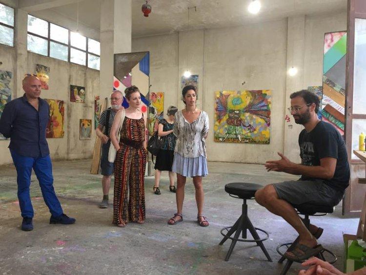 Artist visit with Vaggelis Choursoglu