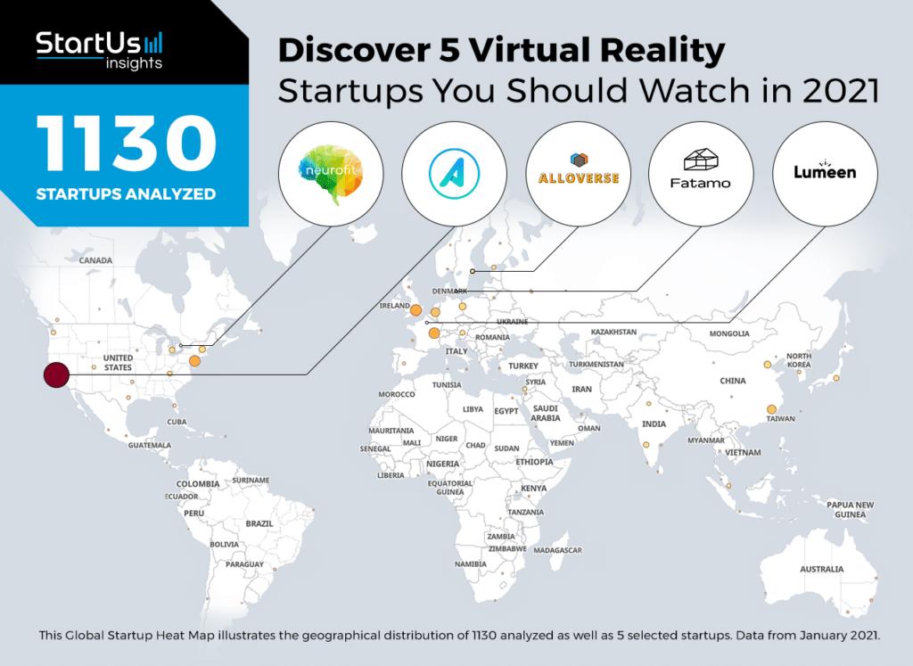 Lumeen apparaît dans le Top 5 des startups VR à surveiller en 2021