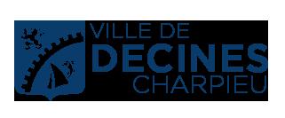 logo de la ville de Decines Charpieu