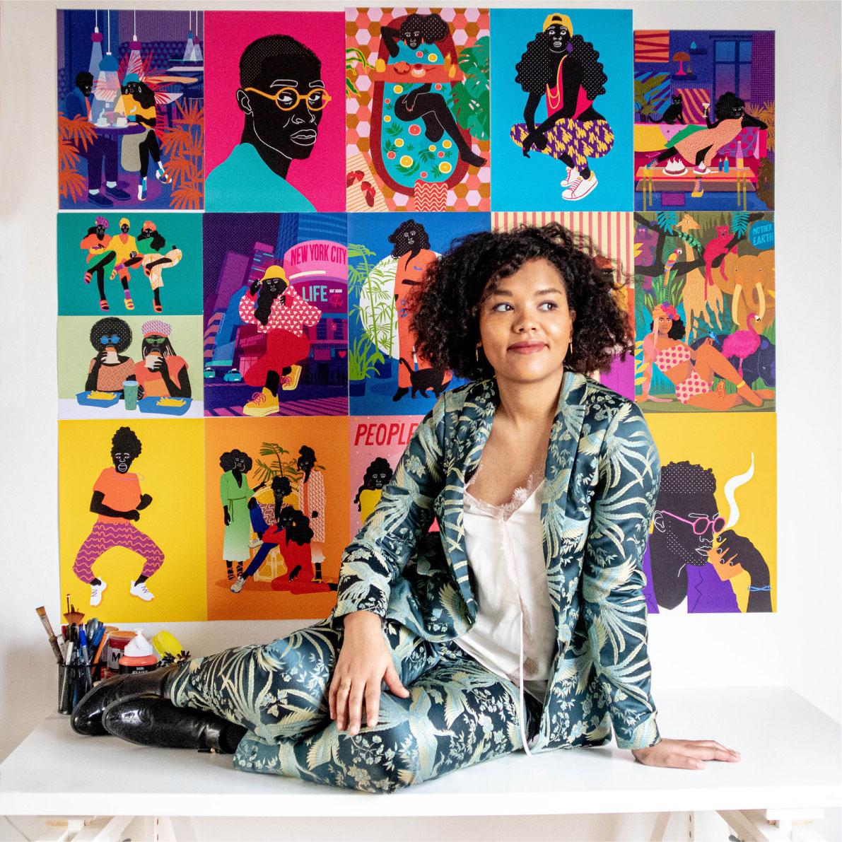 posters, photo, aurélia, painting, studio