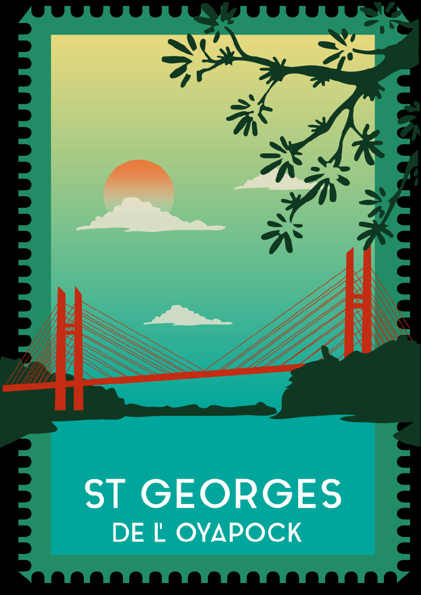 landscape, postcard, exotic, bridge, water, river, plant, vegetation, nature, green, tree