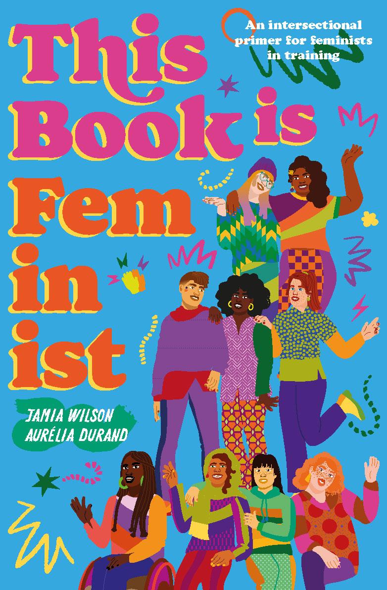 this book is feminist, book, editorial, quarto kids, feminist, blue