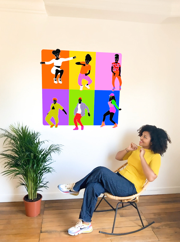 AR, augmented relaity, aniamtion, video, fun, aurélia, dance, afro pop