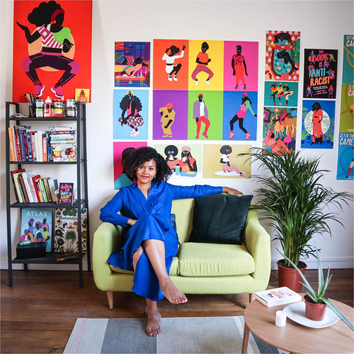 posters, photo, aurélia, studio