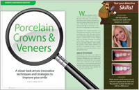 Crowns and Veneers - Dear Doctor Magazine