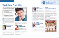 Tooth Pain - Dear Doctor Magazine