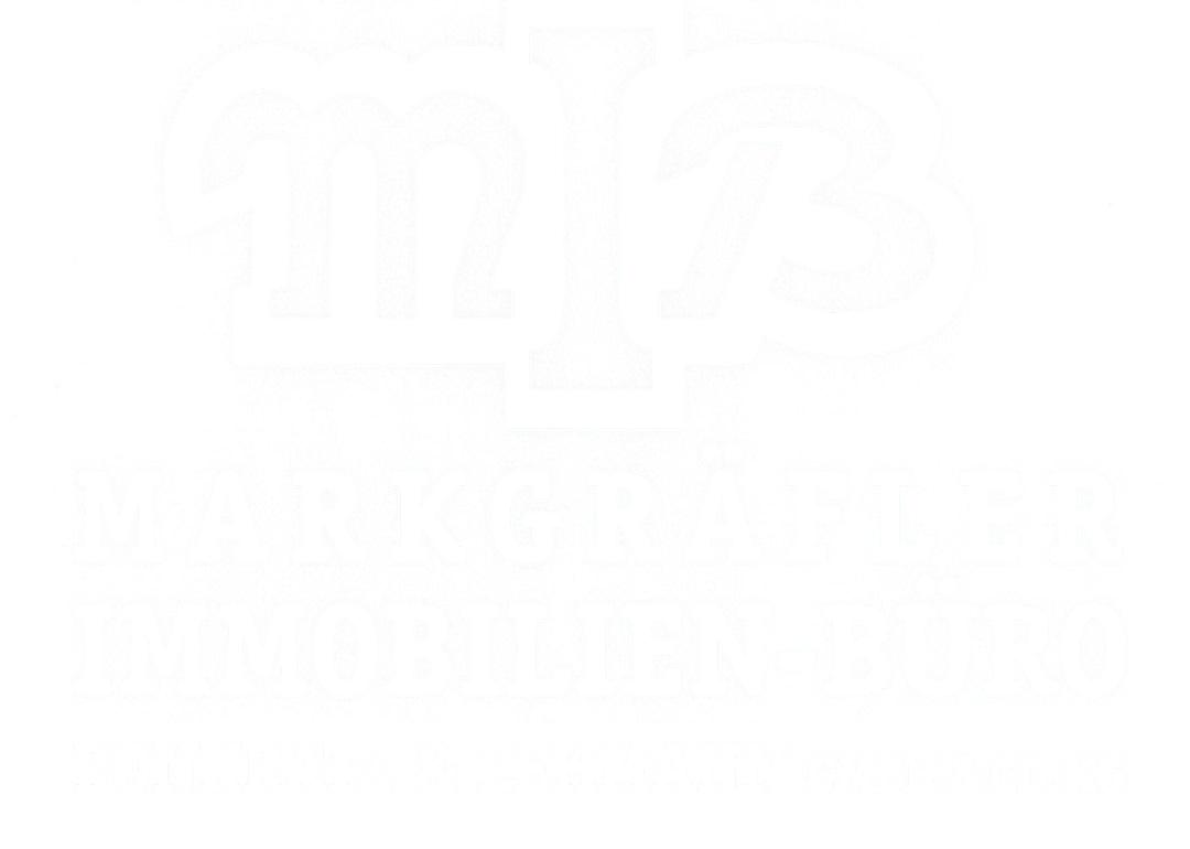 Logo des Markgräfler Immobilien Büros Müllheim.