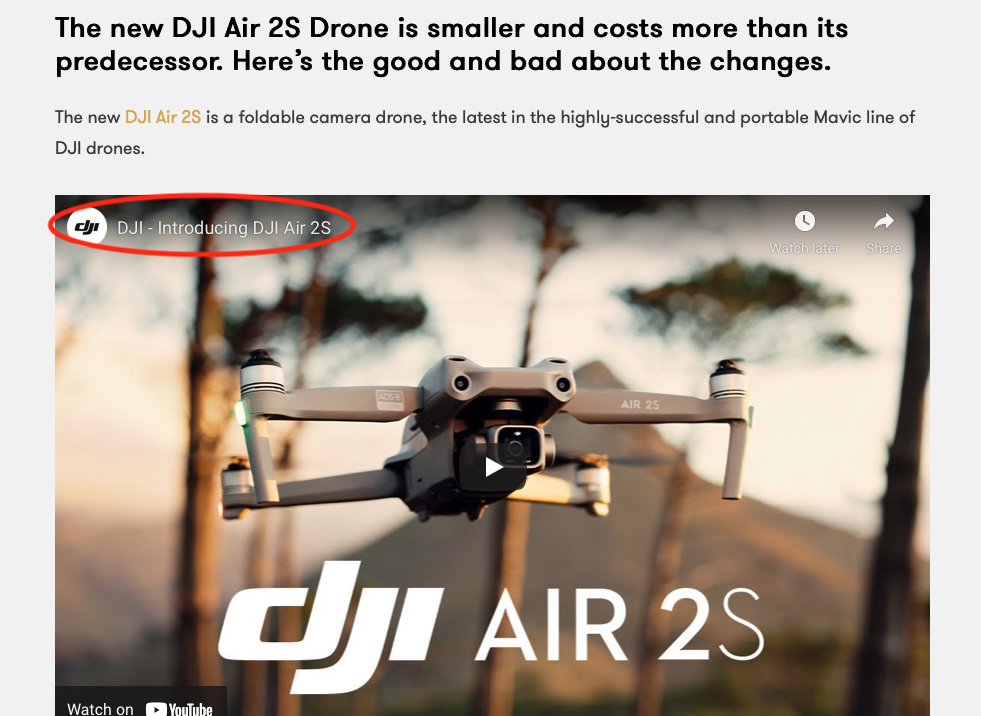 Premiumbeat Blog about the new DJI Mavic Air 2S
