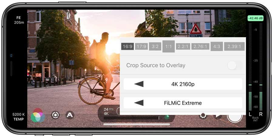 Die Filmic Pro App