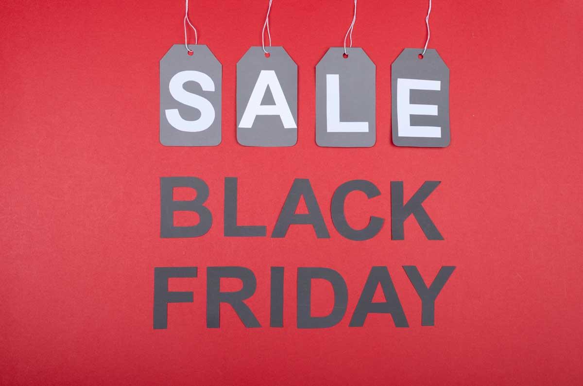 Black Friday Sale Plakat