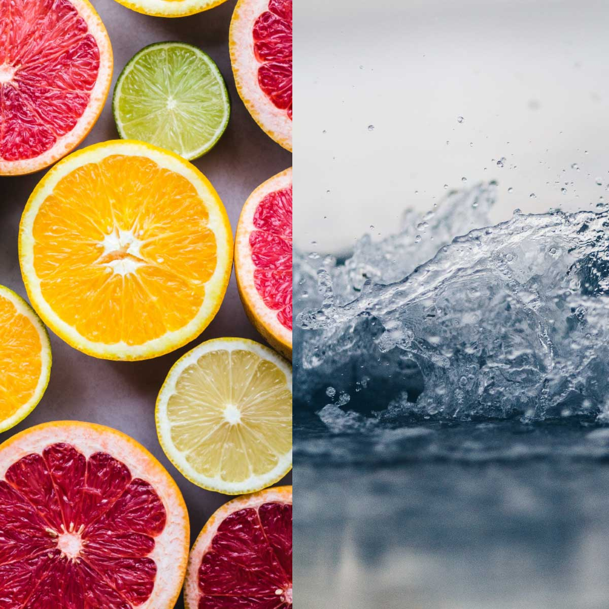 Citrus Früchte und