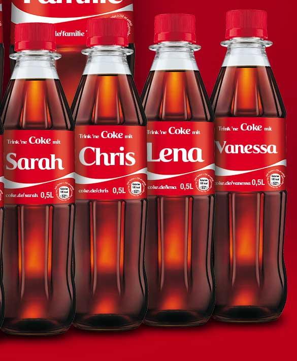 Share a coke aktion