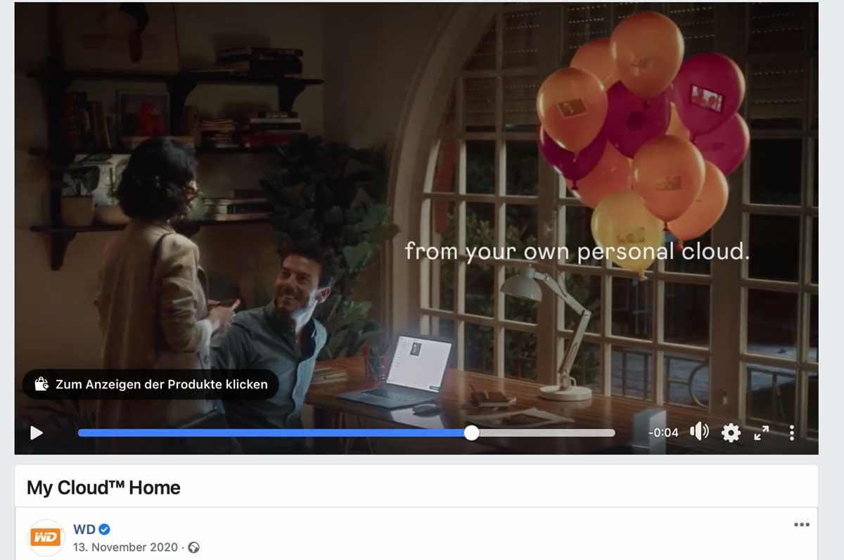 Ein Western Digital Werbefilm