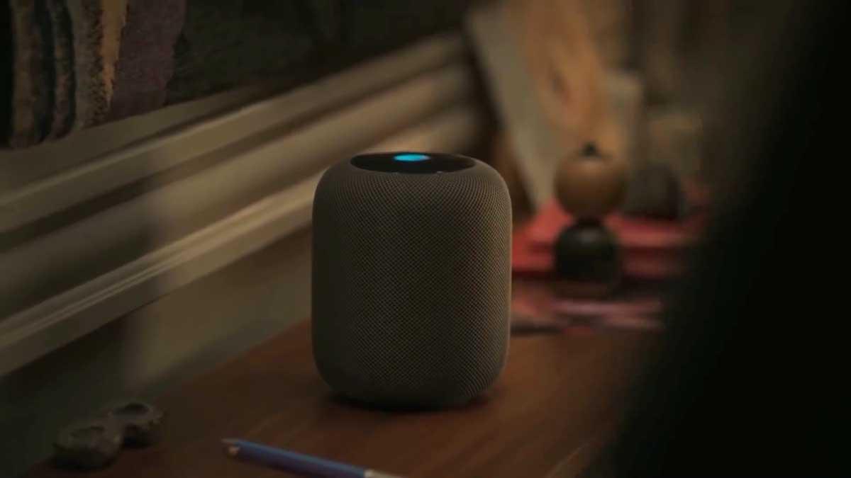 Der HomePod, das Produkt des Werbefilms