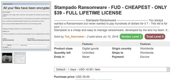 Stampado Ransomware
