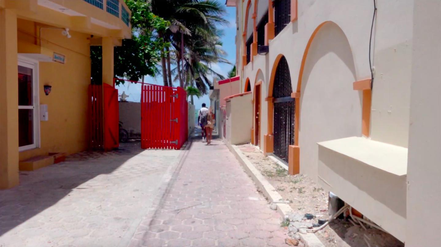 """Away in Belize"""